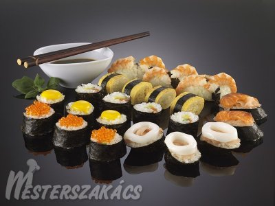 Szusi (sushi) alaprecept