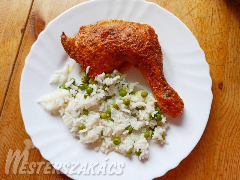 A legfinomabb sült csirkecomb recept