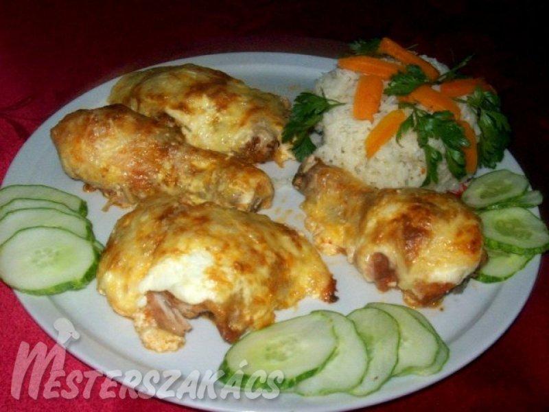Abbahagyhatatlan csirke recept