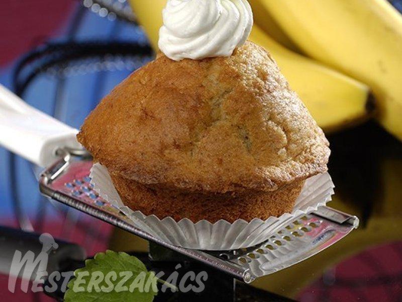 Banános. joghurtos muffin recept