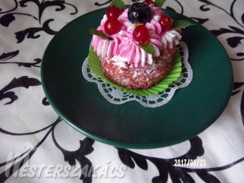 Bársony muffin recept