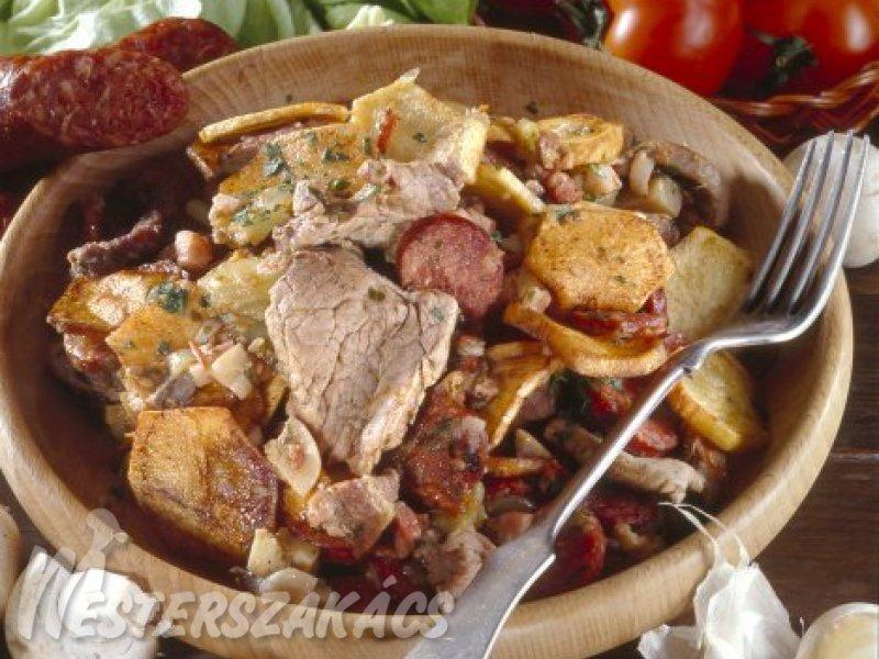 Bogdányi aprópecsenye recept
