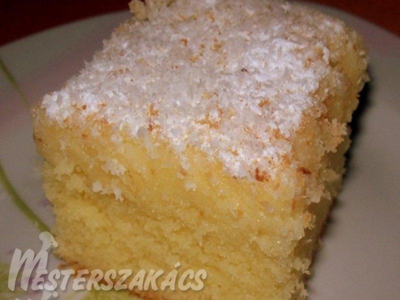 Bögrés Raffaello kocka recept