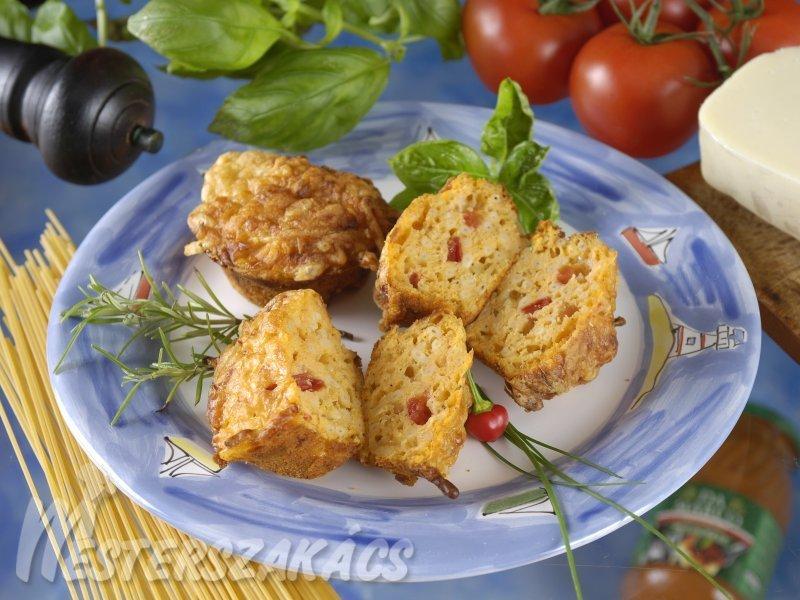 Bolognai muffin recept