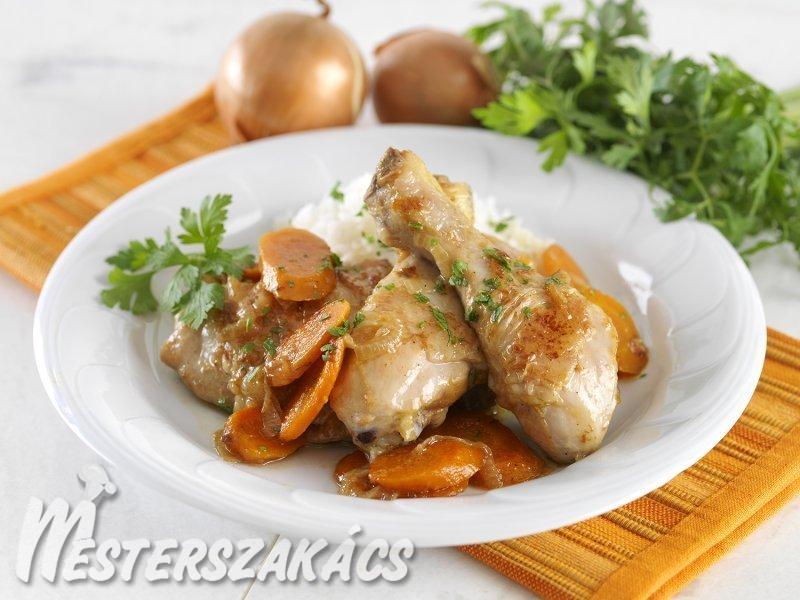 Boros csirkecombok recept