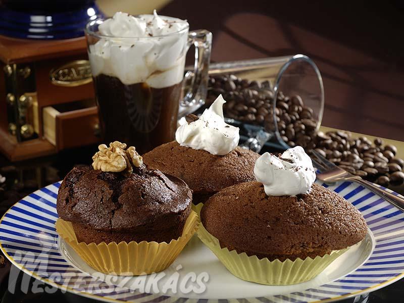 Cappuccino-muffin recept