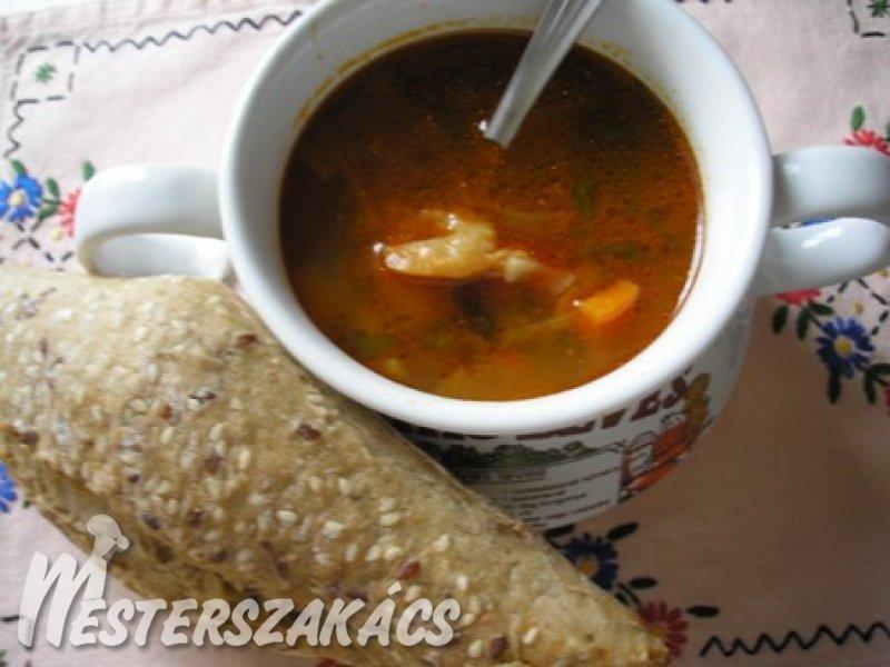 Chilis rákleves recept