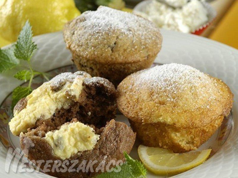 Citromos, joghurtos muffin recept