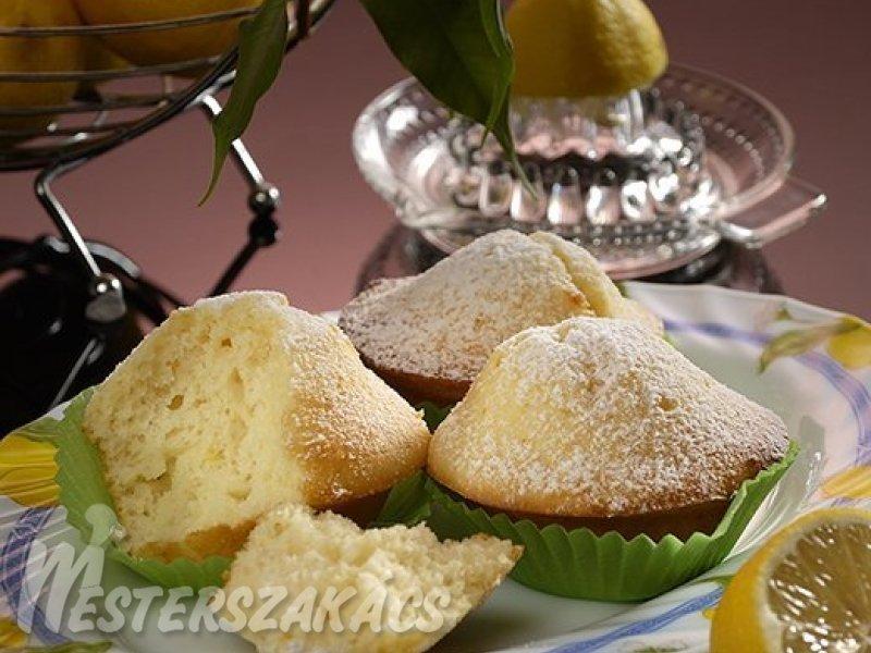 Citromos muffin recept