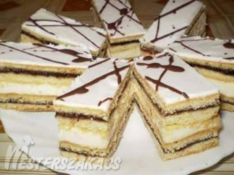 Citromos-szilvalekváros sütemény recept