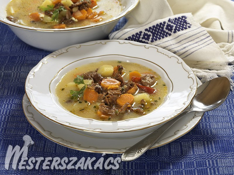 Csángó rókagombaleves recept