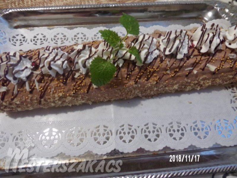 Csokis rolád recept