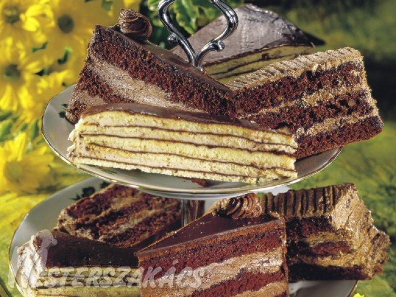 Csokoládés, gesztenyés torta recept