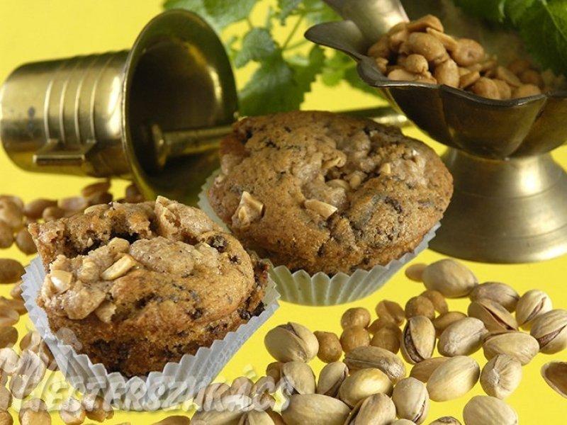 Csokoládés, mogyorós muffin recept