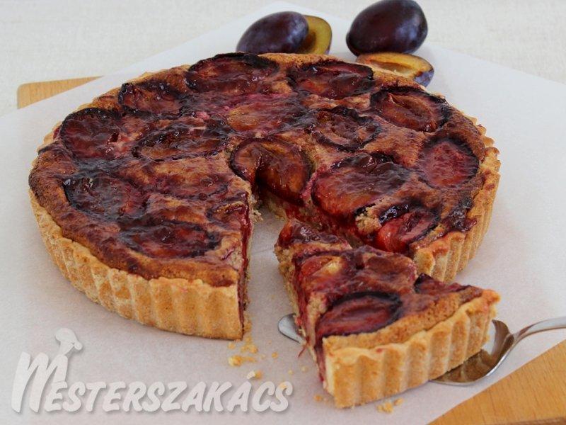 Diós-szilvás pite recept