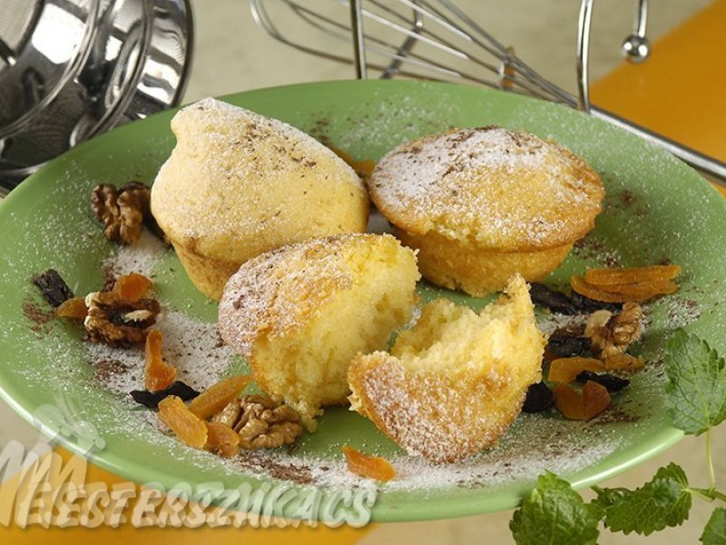 Édes muffin alaprecept kétféleképpen recept
