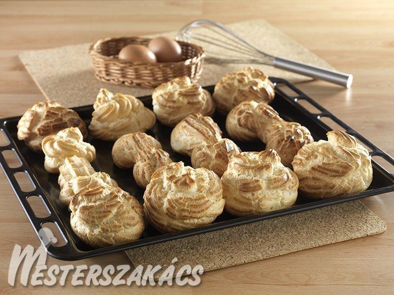 Égetett (forrázott)  tésztafánk alaprecept recept