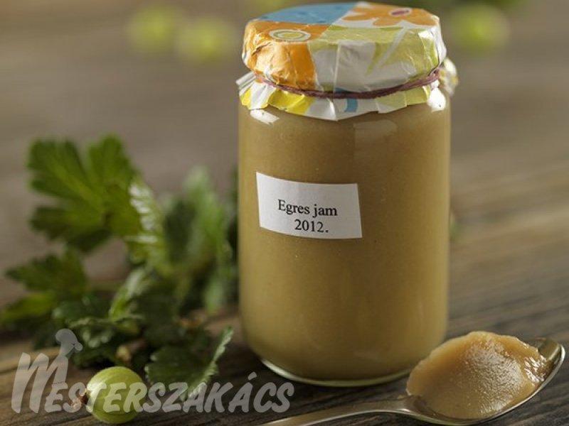 Egreslekvár  hagyományosan és cukorbetegeknek recept