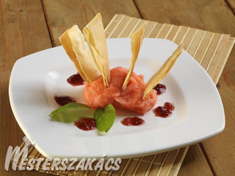 Eperhabos rétes recept