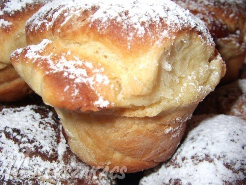 Fánk muffin recept