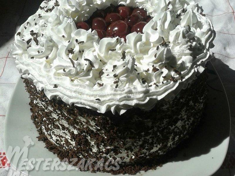 Feketeerdő-torta recept