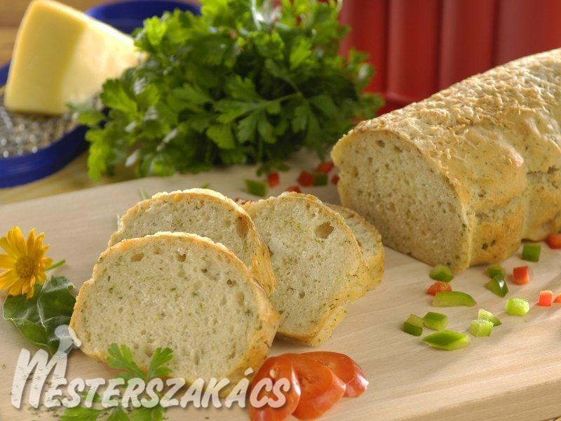 Fűszeres-olívás kenyér recept