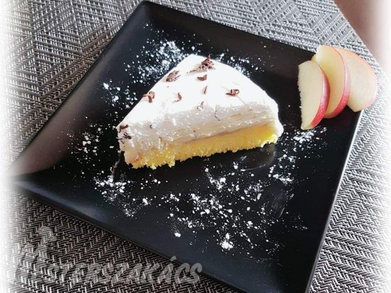 Glutén- és tejmentes almás krémes recept