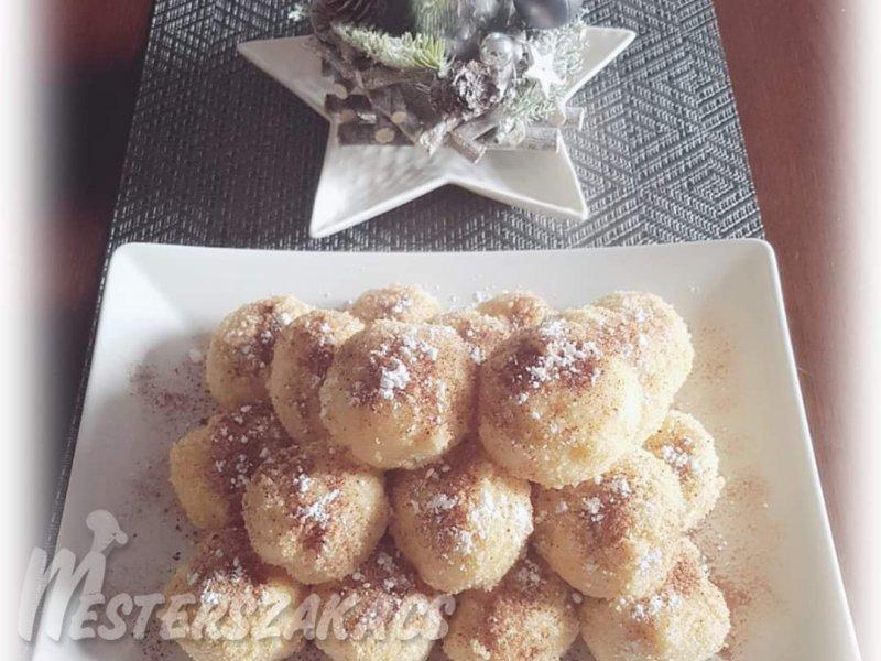 Glutén- és tejmentes kakaós gombóc recept