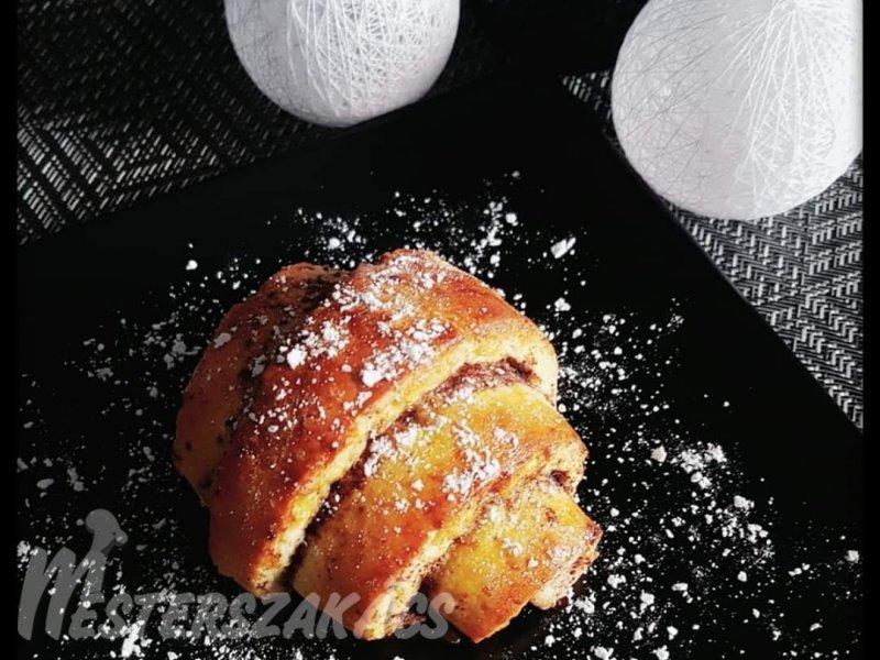 Glutén- és tejmentes kakaós tekercs recept