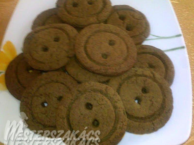 Gomb formájú, gluténmentes, diabetikus keksz recept