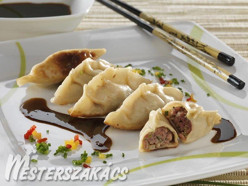 Gyoza  (japán specialitás) recept