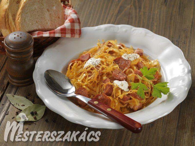 Gyulavári káposzta recept