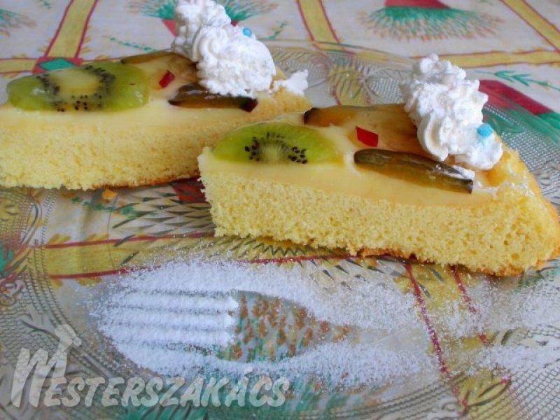 Gyümölcsös torta recept