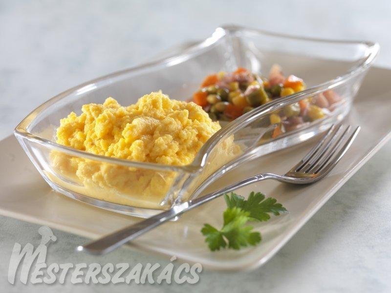 Habart tojás recept