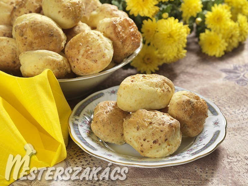 Juhtúrós pogácsa recept