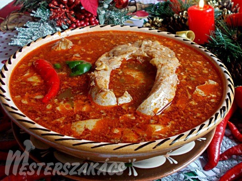 Karácsonyi halászlé recept