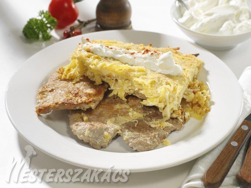 Karaj káposztás-krumplis köntösben recept