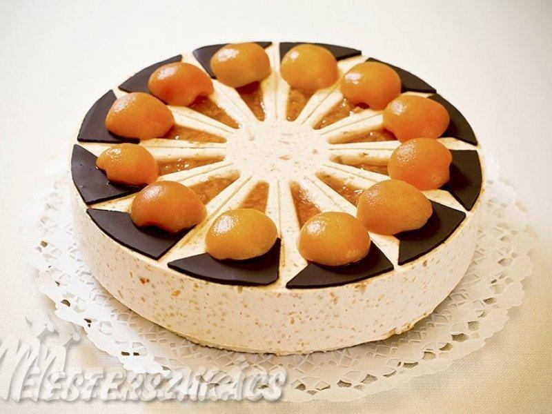 Kecskeméti  barackos kölestorta (az ország tortája 2011-ben) recept