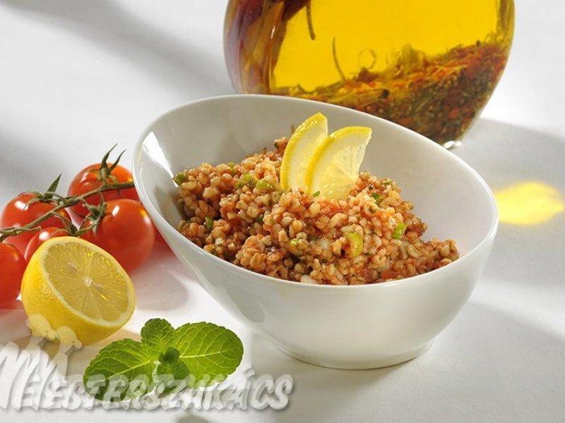 Kisir, avagy török tabbouleh recept