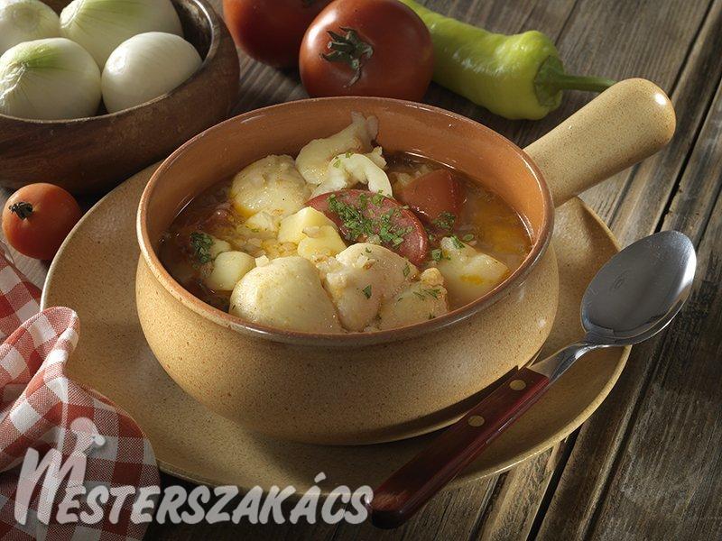 Kötöttgaluska-leves recept