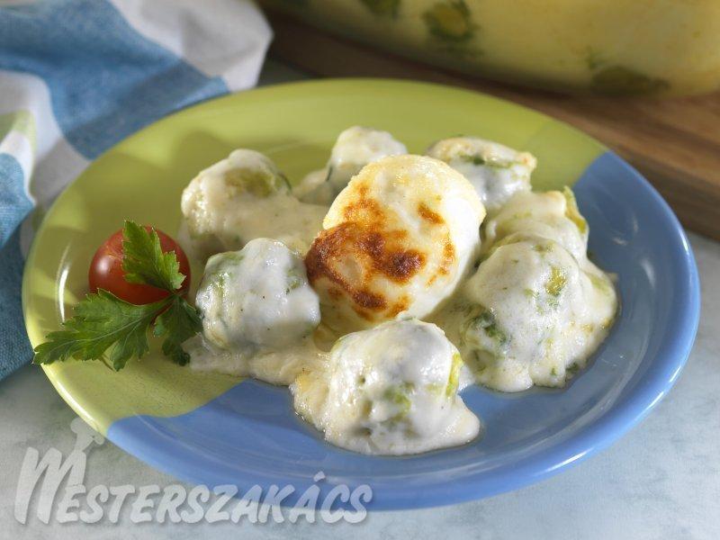 Lágy tojás kelbimbóval recept