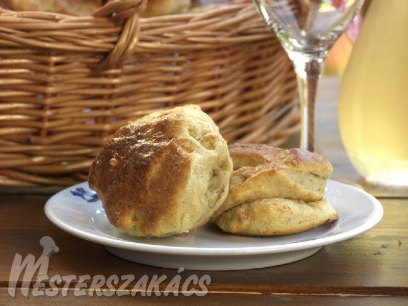 Libatöpörtyűs pogácsa recept