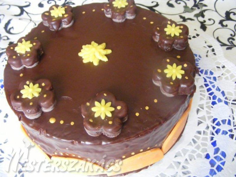 Mascarponés csokoládétorta recept