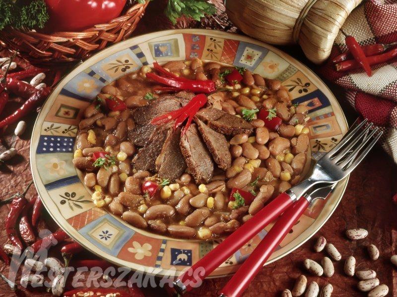 Mexikói vadkacsa, vagy vadlibamell  recept