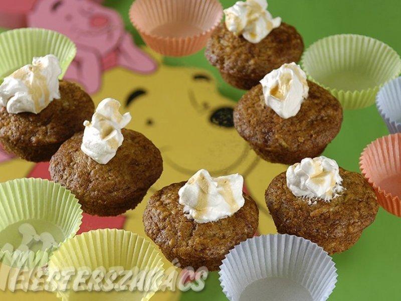 Micimackó muffin recept