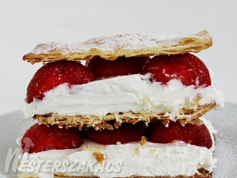 Mille-feuille eperrel recept