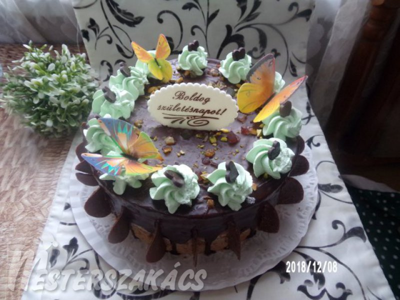 Mónika torta  recept