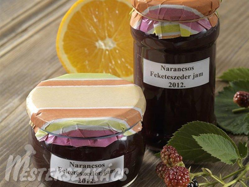 Narancsos feketeszederdzsem hagyományosan és cukorbetegeknek recept