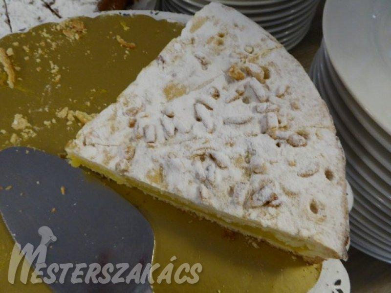 Olasz citromkrémes torta recept