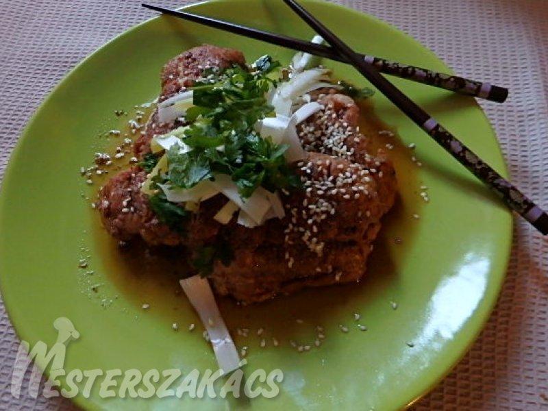 Öt fűszeres kínai harcsa recept